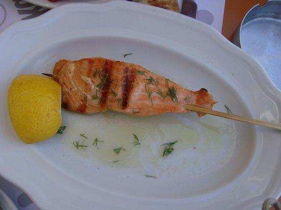 Kazarma : salmon kebab
