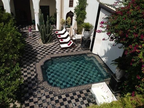 Riad Lotus Privilege: vista desde la terraza superior