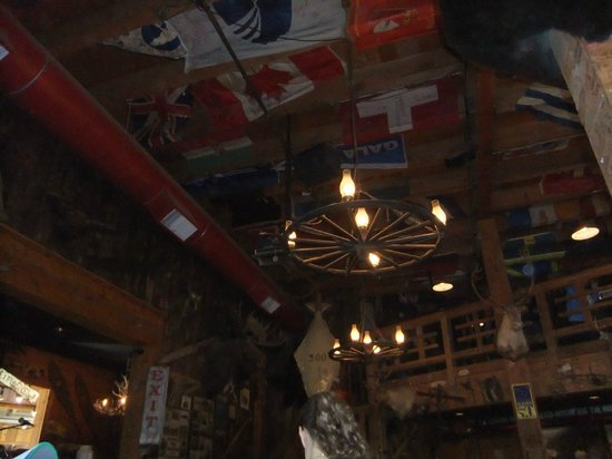 Red Dog Saloon: Every inch covered with something