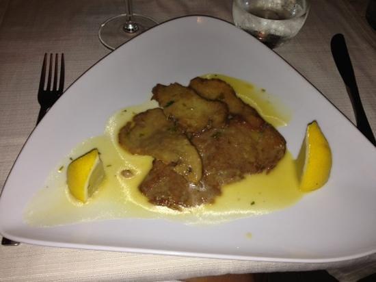 The Blues Cafe: scaloppina di seitan al limone