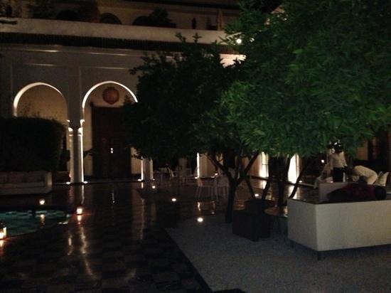 Riad Lotus Privilege: vista desde nuestra suite