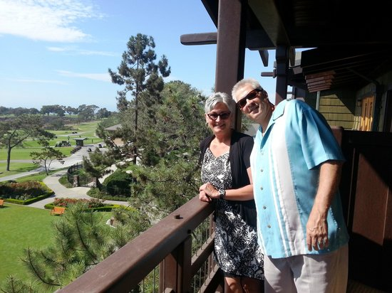 The Lodge at Torrey Pines: Our lovely balcony view