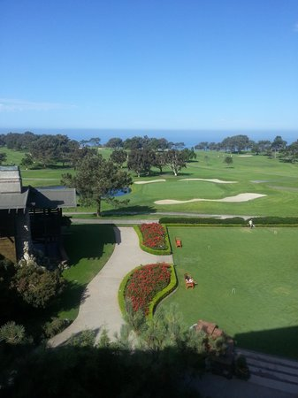 The Lodge at Torrey Pines: Last beautiful morning.