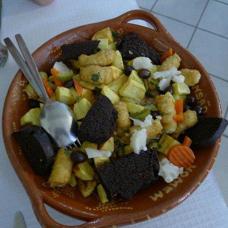 Rio Homem Pensao Restaurante: Rio Homem Crispy Black Pudding etc