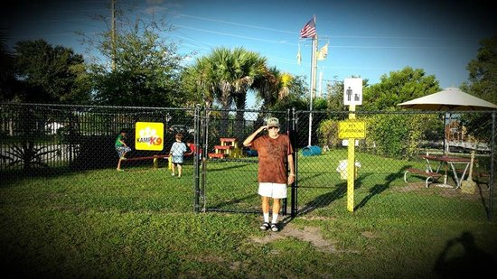 "Fort Pierce KOA: My Dad is a Marine... he liked the dog park the KOA has..  ;o)  ""Salute"" Siempre Fi"
