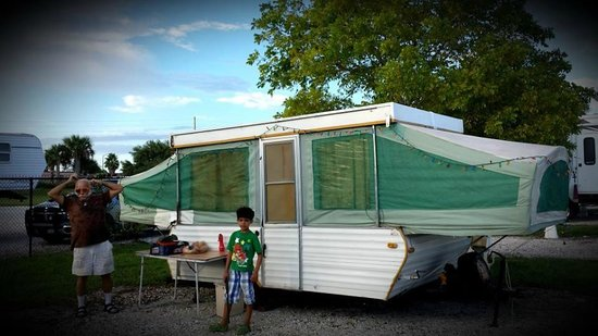 "Fort Pierce KOA: Our Camper, we call it ""Steve""  ;o)"