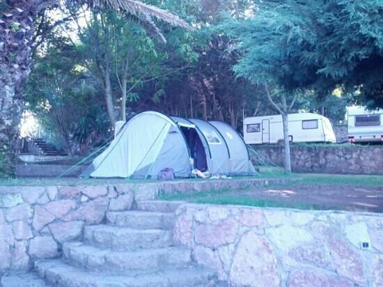Camping Playa de Troenzo: Mi Tienda, parcela 125