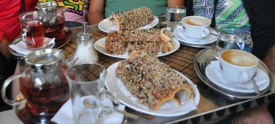 Molnar's Kurtoskalacs: torta camino e cappuccini