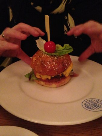 Le Germain & Club Paradisio: Le burger!