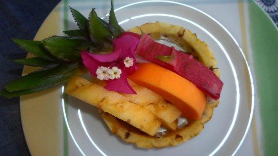 Riverside Inn Fuji Bentota: Früchte zum Frühstück - Variante 1