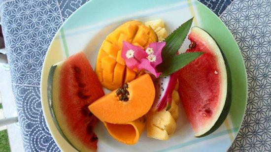 Riverside Inn Fuji Bentota: Früchte zum Frühstück - Variante 3