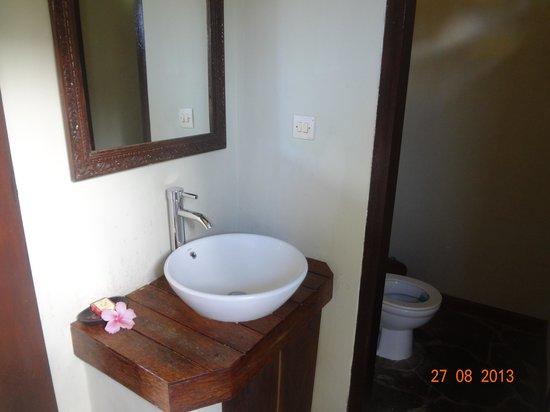 Subak Tabola Villa: Lavabo