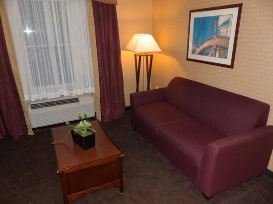 Homewood Suites by Hilton Atlantic City/Egg Harbor Township: Full Size Sofa and Seating Area