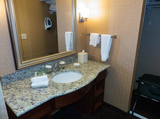 Homewood Suites by Hilton Atlantic City/Egg Harbor Township: Roomy Sink & Dressing Room