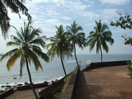Reis Magos Fort: Veiw from fort