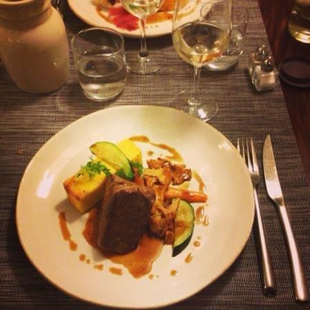 Restaurant Coté Cour : Veau Polenta