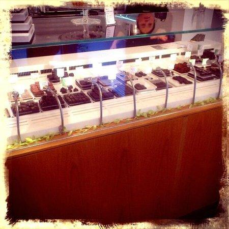 Cafe Saturnus: banco dei cioccolatini