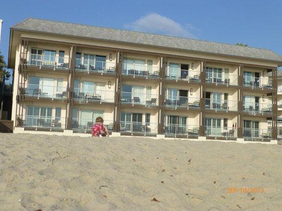 Beach Terrace Inn: Hotel from the beach