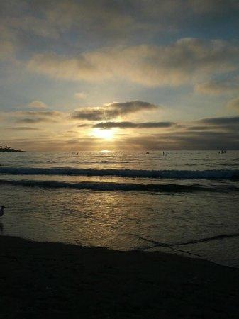 La Jolla Beach & Tennis Club : Sunset on the Pacific September 14, 2013