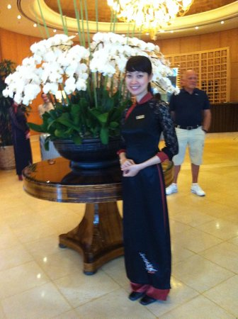 Caravelle Saigon: A warm greeting!