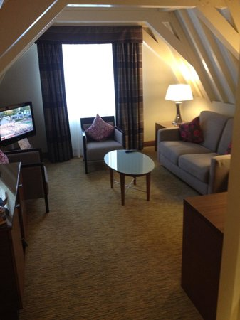 Crowne Plaza Amsterdam City Centre: Lovely lounge area