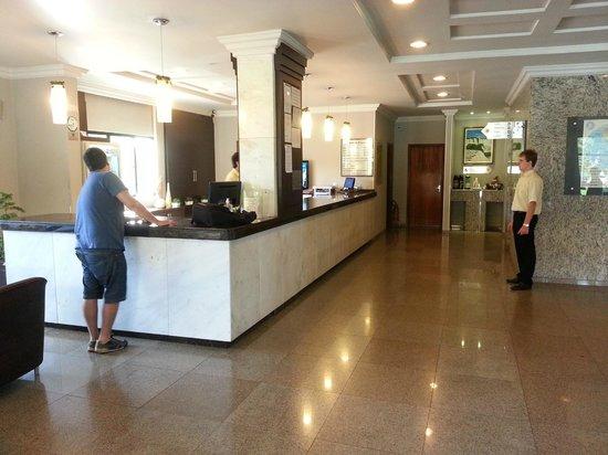 Luz Hotel: Recepção do hotel