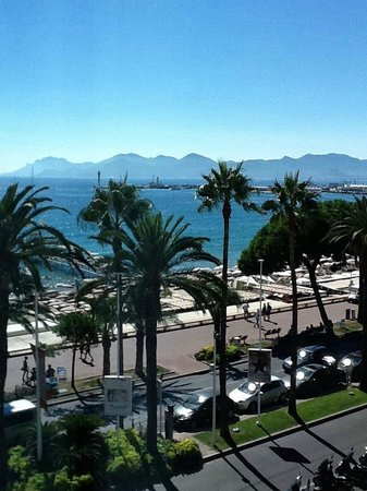 JW Marriott Cannes : View from our room