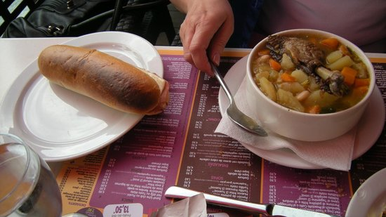 Restaurant : Panini and Duck Stew