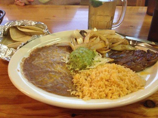 Escobars Mexican Restaurant: Carne Asada -mmmmmmm!