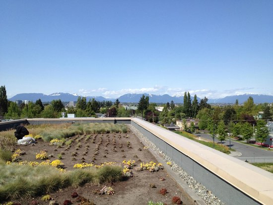La Quinta Inn Vancouver Airport: View from the roof