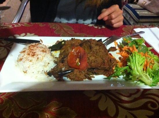Ahmet's Turkish Restaurant: moussaka