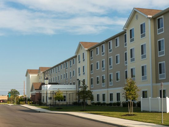 Homewood Suites by Hilton Atlantic City/Egg Harbor Township: Back Side of Hotel