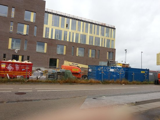 Scandic Roskilde: Front side of the hotel