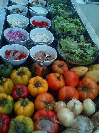 Gourmet Farms: Fresh produce in our Salad Bar