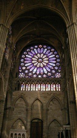 Basilica Cathedral Of Saint Denis St Rose Window
