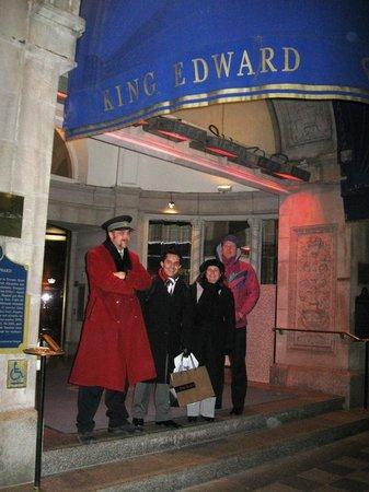 The Omni King Edward Hotel: Entrada