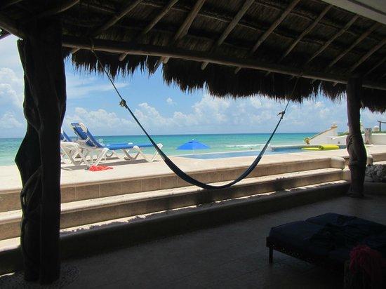 Hacienda del Secreto: view from private pool area