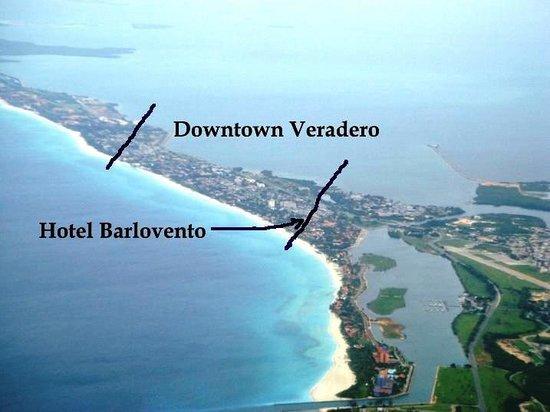 Hotel Roc Barlovento: Hotel location
