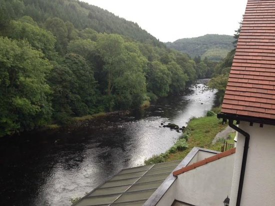 Craig-y-Dderwen Riverside Hotel: View from my balcony