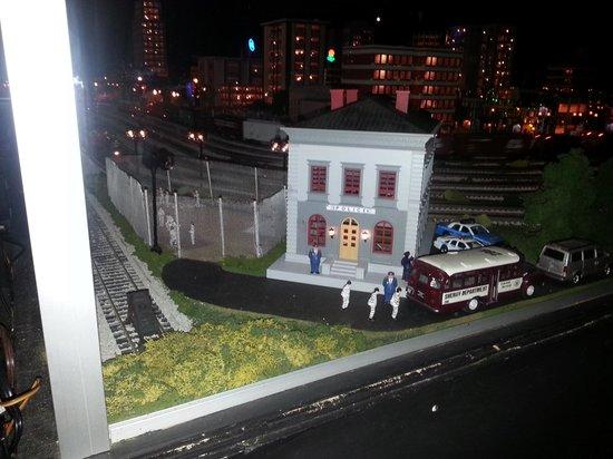 Merchants Square Model Train Exhibit: one of the exhibits