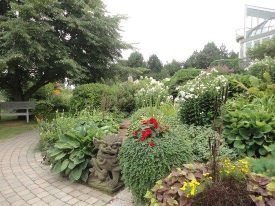 The Dunes Studio Gallery & Cafe: gardens