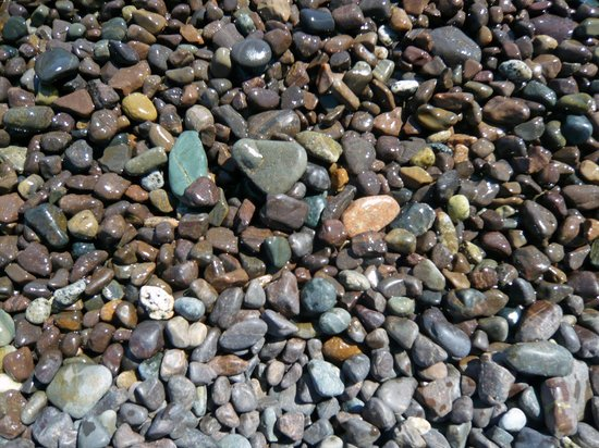 Machiasport, ME : Beach rocks