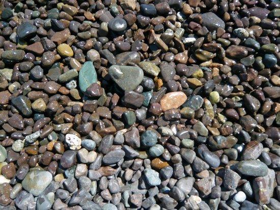 Machiasport, Maine: Beach rocks