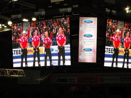 Save-On-Foods Memorial Centre : Canadian Team