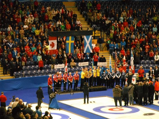 Save-On-Foods Memorial Centre : World 2013 Curling Champions