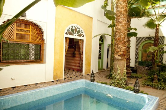Maison Arabo Andalouse: The Courtyard