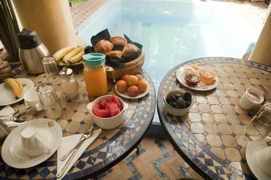 Maison Arabo Andalouse: Breakfast