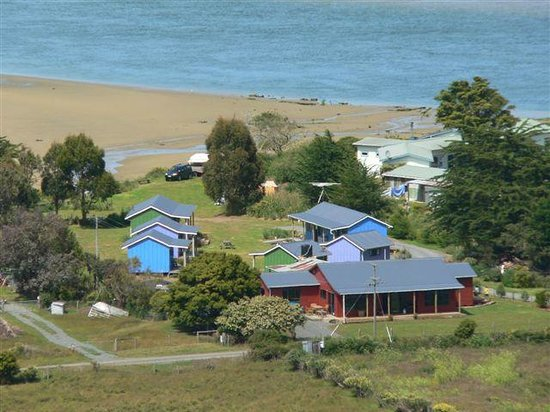 Catlins Newhaven Holiday Park: view of camp