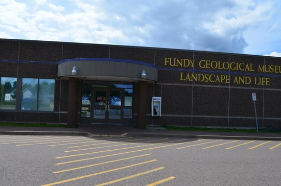 Front Entrance to the Fundy Geological Museum