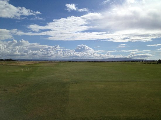 Royal Troon Golf Club: view from first tee
